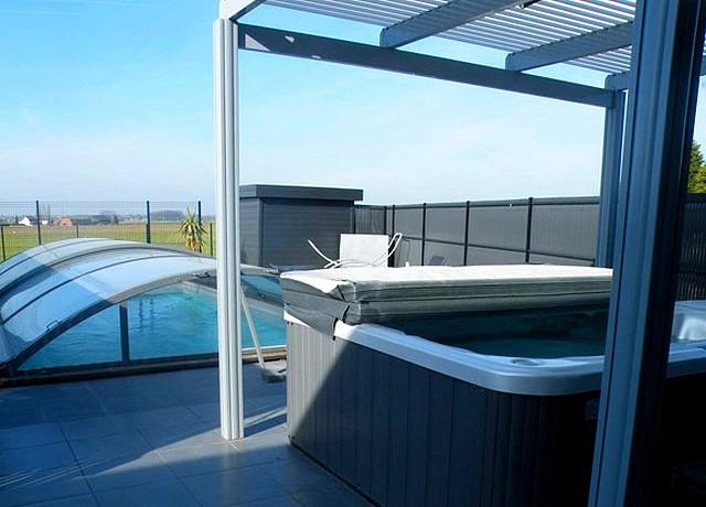 at spa villa piscine privee lille