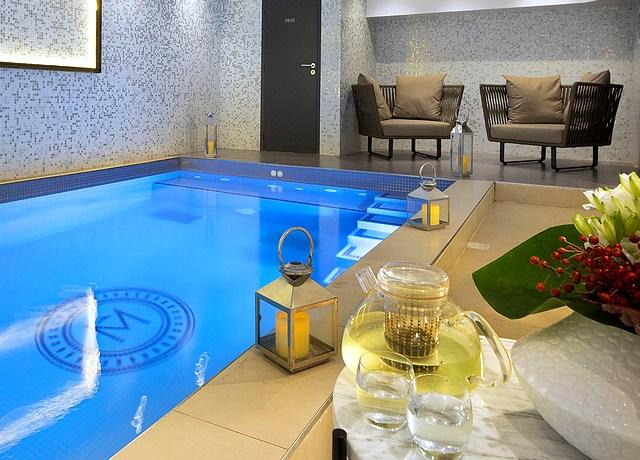 hotel avec piscine privée à paris hotel matins de paris