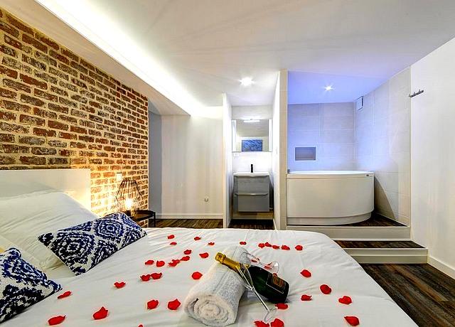 appartement d'une chambre avec jacuzzi privatif sur toulouse à My Toul'house spa
