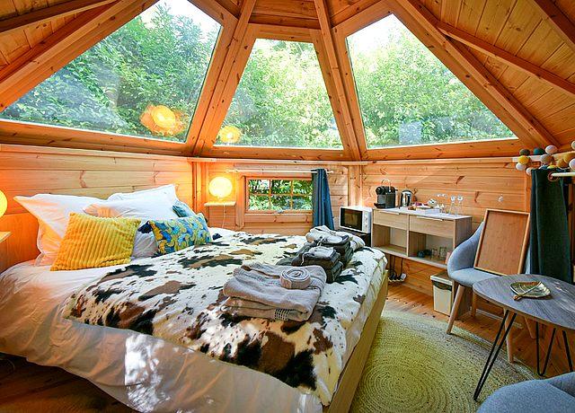dormir dans une bulle proche de paris au camping le pré des moines