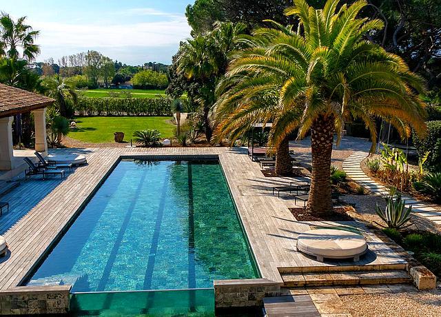 chambre et hotels avec piscine privee montpellier le domaine de verchant