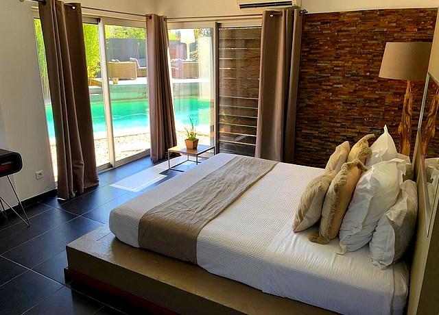 suites avec piscine privée proche de Montpellier à la Suite 609
