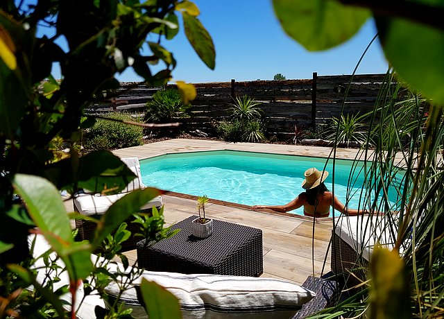 chambres et hotels avec piscine privée proche de Montpellier au Clos de Camargue