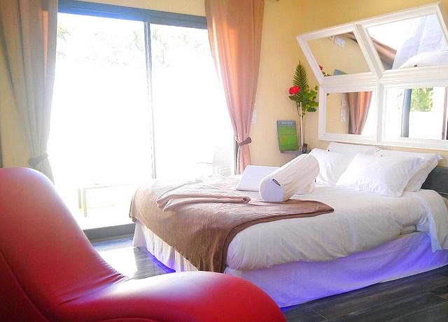 Chambres avec miroir au plafond à Montpellier chez Epicurooms