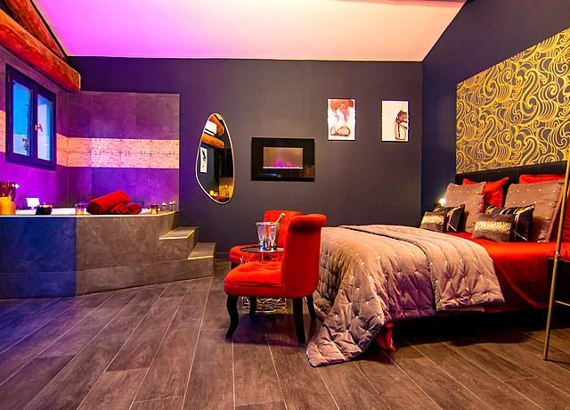 Appartement d'une chambre avec jacuzzi privatif près de Montpellier à La Vermeillade