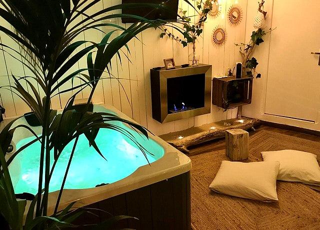 Chambres d'hôte avec jacuzzi privatif sur Montpellier au O 5 Sens