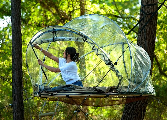 Dormir dans une bulle près de Nantes à Dihan Evasion