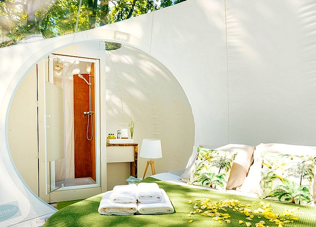 Dormir dans une bulle à proximité de Toulouse sur le domaine de Somn'en Bulle