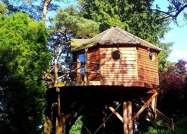 Dormir dans une cabane dans les arbres proche de Marseille au Domaine de la Carrauterie