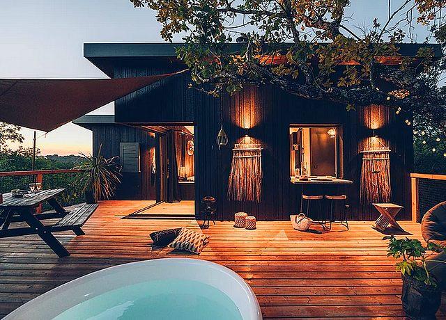 Dormir dans une cabane dans les arbres à Toulouse chez Pella Roca